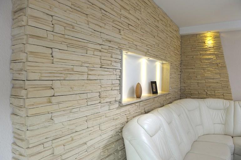 Pareti in sasso faretti led per parete in pietra parete interna